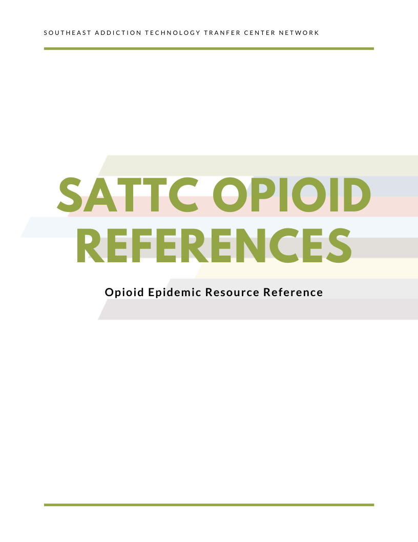 Opioid Resource Reference Page 1