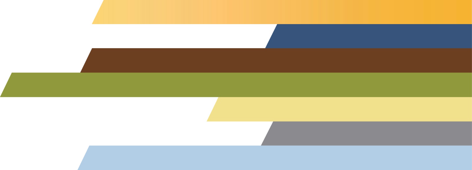 Colored bars graphic