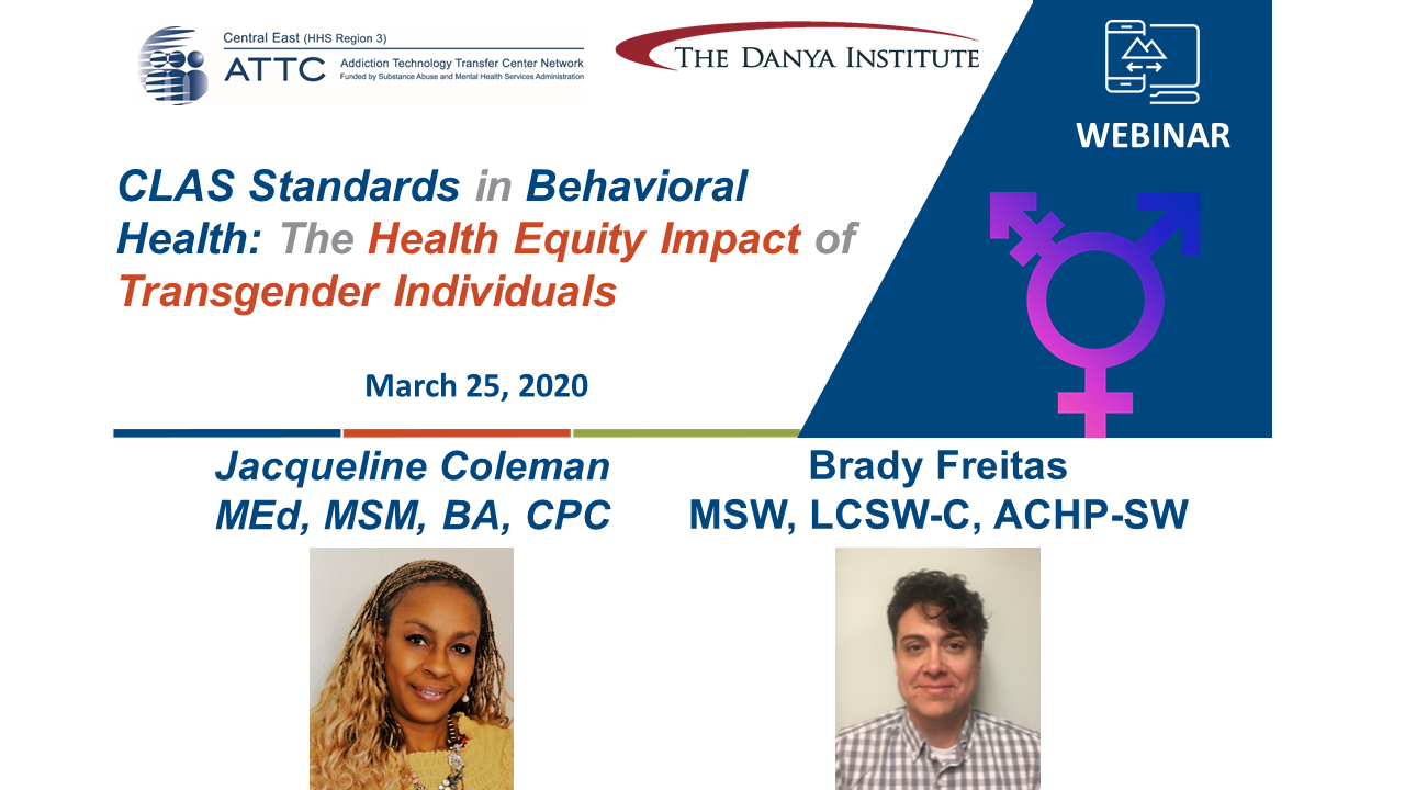 CLAS Transgender webinar cover graphic