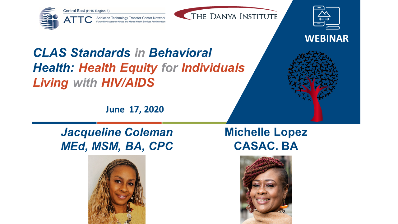 CLAS HIV webinar cover graphic