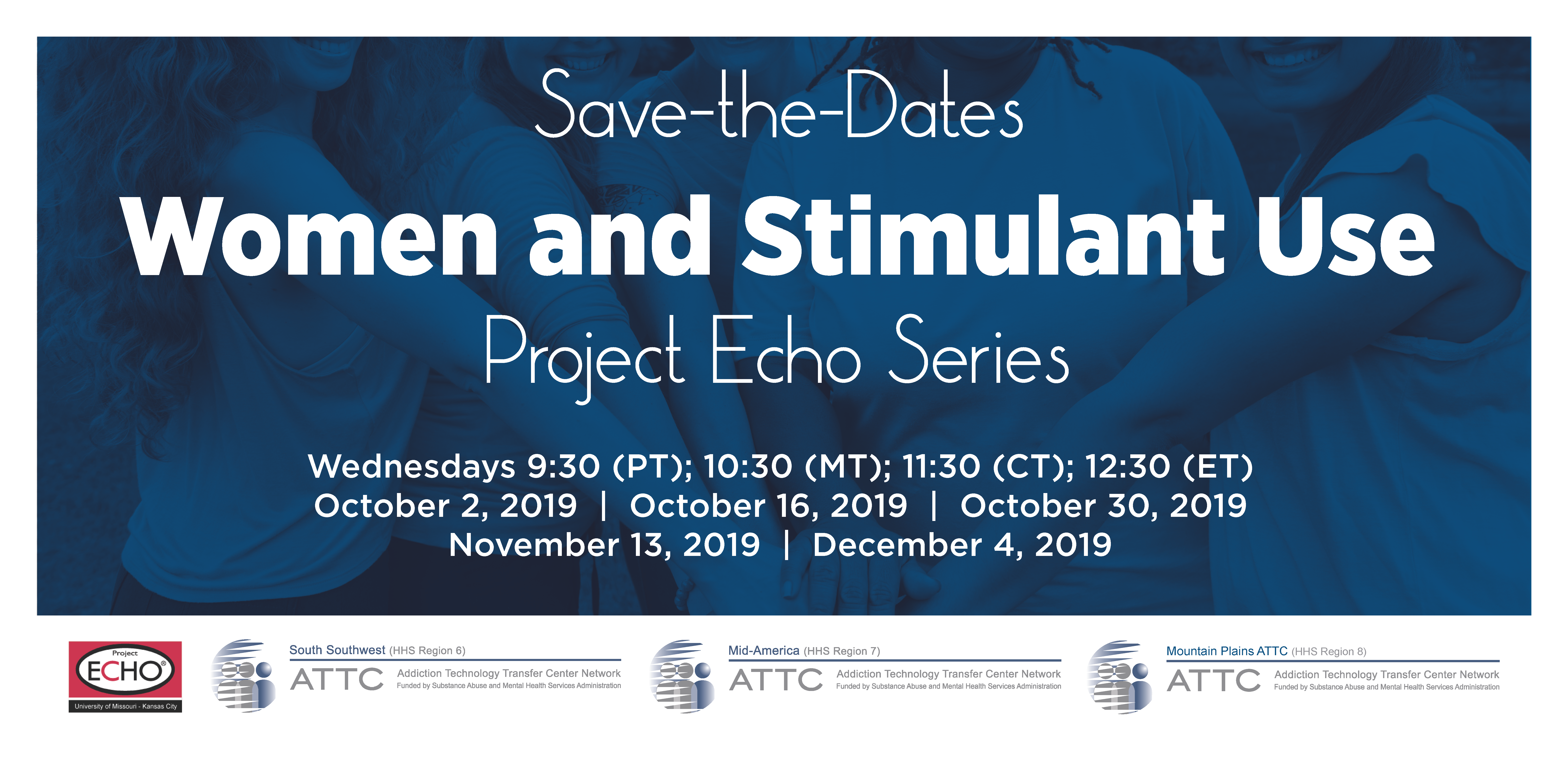 Women and Stimulant Use Project ECHO Series Save-the-Date