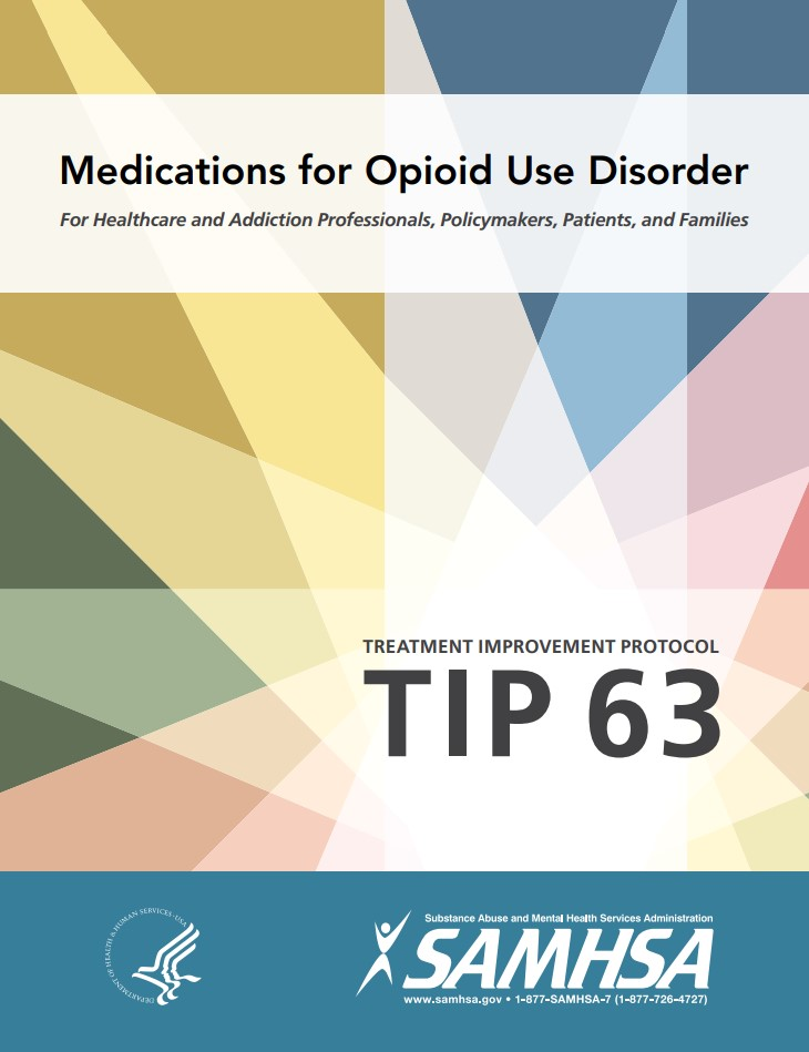 "Cover of SAMHSA Report ""Medications for Opioid Use Disorder"""