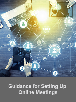 Guidance for online meetings