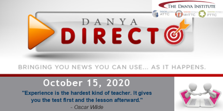 Danya Direct Training bulletin 10/15/2020