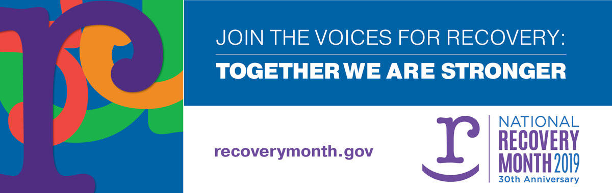 Recovery Month 2019 Logo