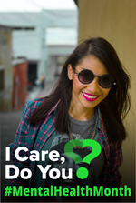 Why Care - Minority Mental Health Month poster