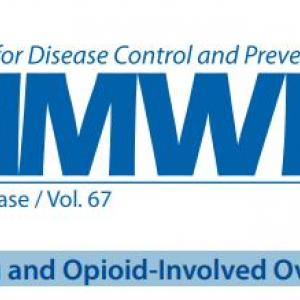 MMWR masthead drug and opioid-involved overdose