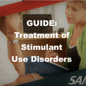 SAMHSA Stimulant Treatment Guide graphic