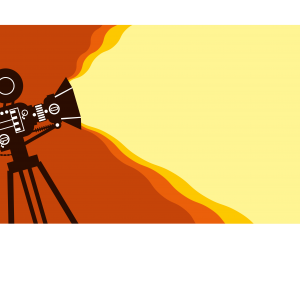 Vector image of camera