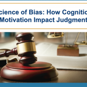 The Science of Bias