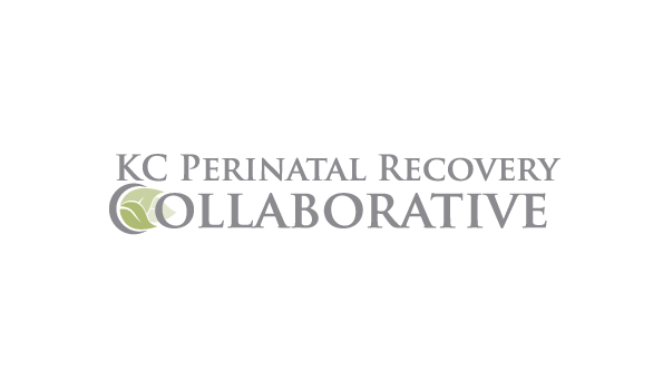 Kansas City Perinatal Recovery Collaborative logo with three green leaves