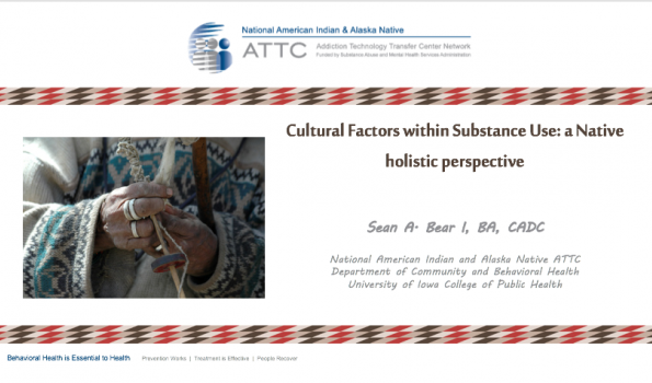 Cultural Issues Within Substance Use