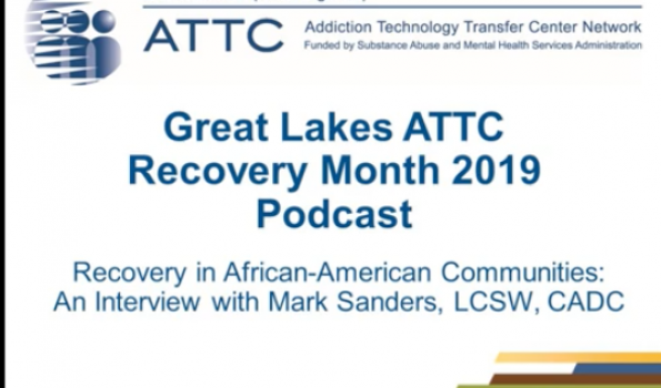 Recovery Month 2019 Podcast