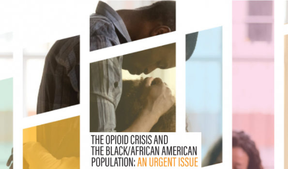 Cover for SAMHSA doc Opioids and Black/African Americans