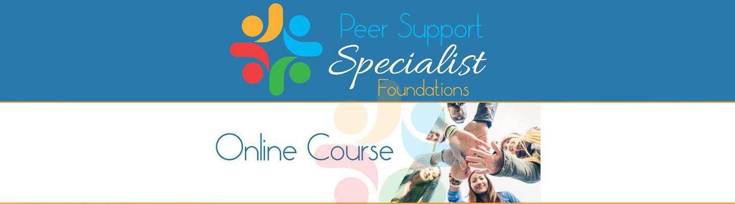 Peer Support Specialist Online Course logo