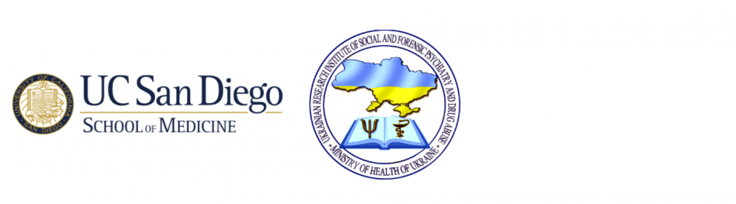 UCSD and Ukraine Ministry logos