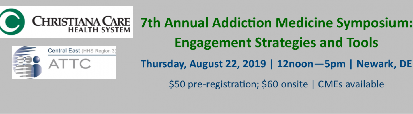Addiction Symposium banner
