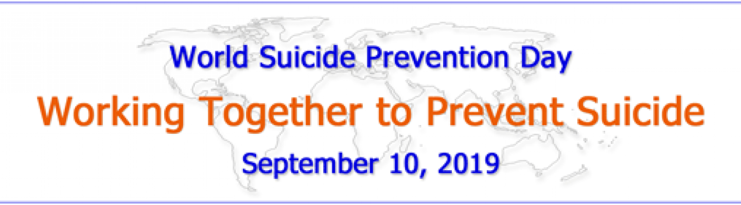 World Suicide Prevention Day banner