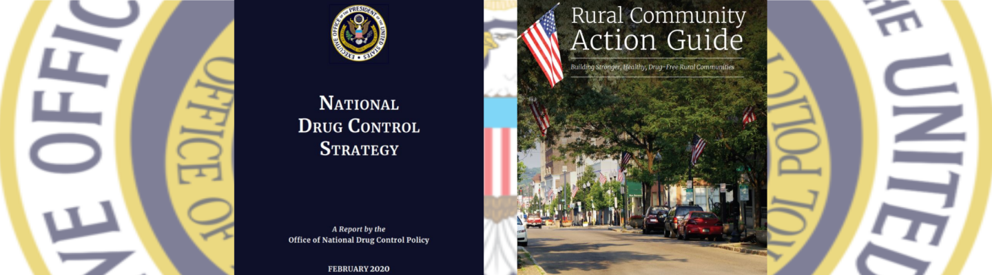 ONDCP Strategy Plan & Rural Toolkit graphic
