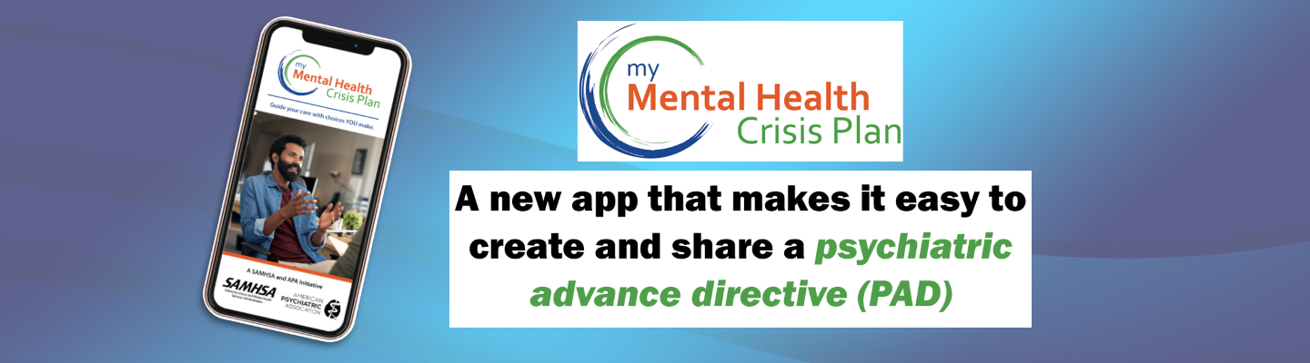 My Mental Health Crisis Plan App banner