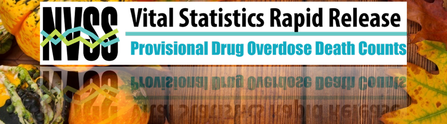 Provisional Drug Overdose Death Counts graphic