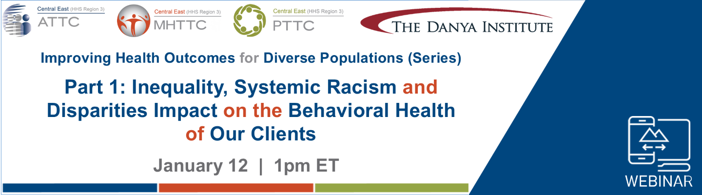 Improving Health Outcomes for Diverse Populations Part 1 graphic
